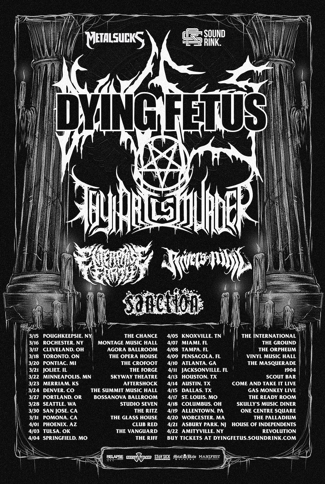 Dying Fetus / Thy Art Is Murder