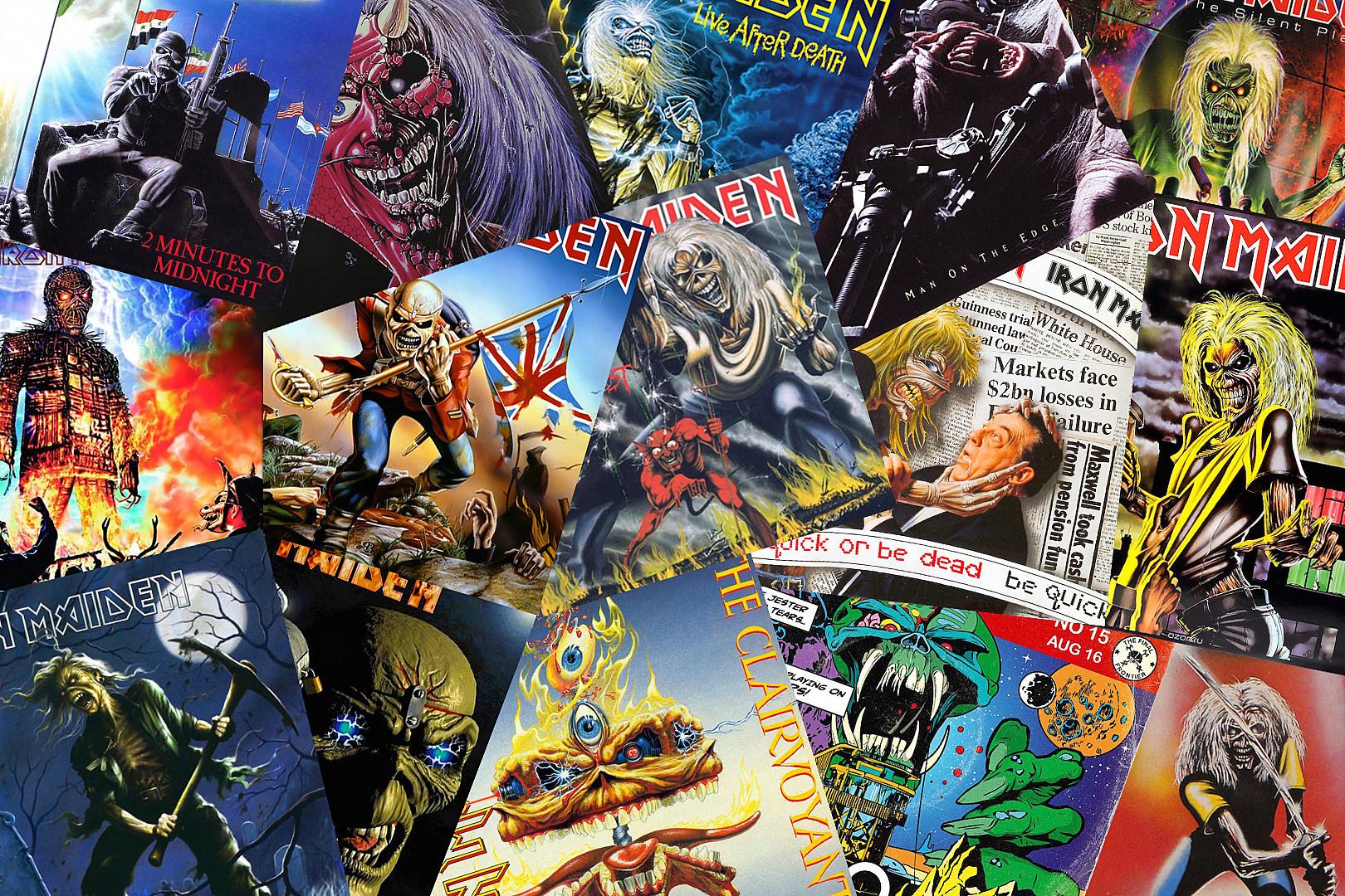Iron Maidens Eddie Nearly 40 Years Of Metals Best Mascot