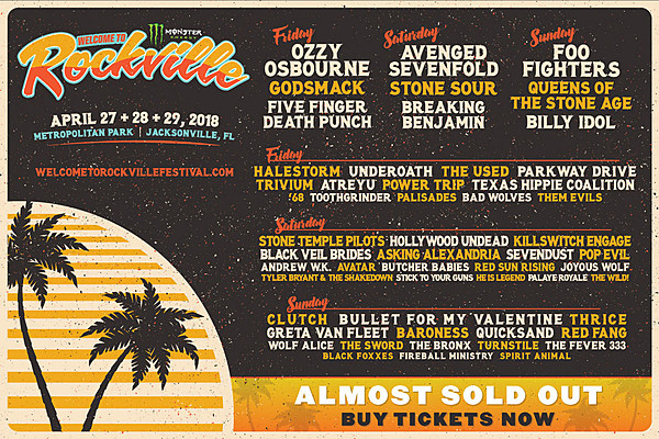 welcome to rockville 2018 set times announced