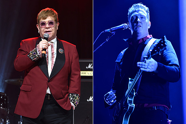 queens of the stone age cover elton john for new 39 revamp 39 tribute. Black Bedroom Furniture Sets. Home Design Ideas