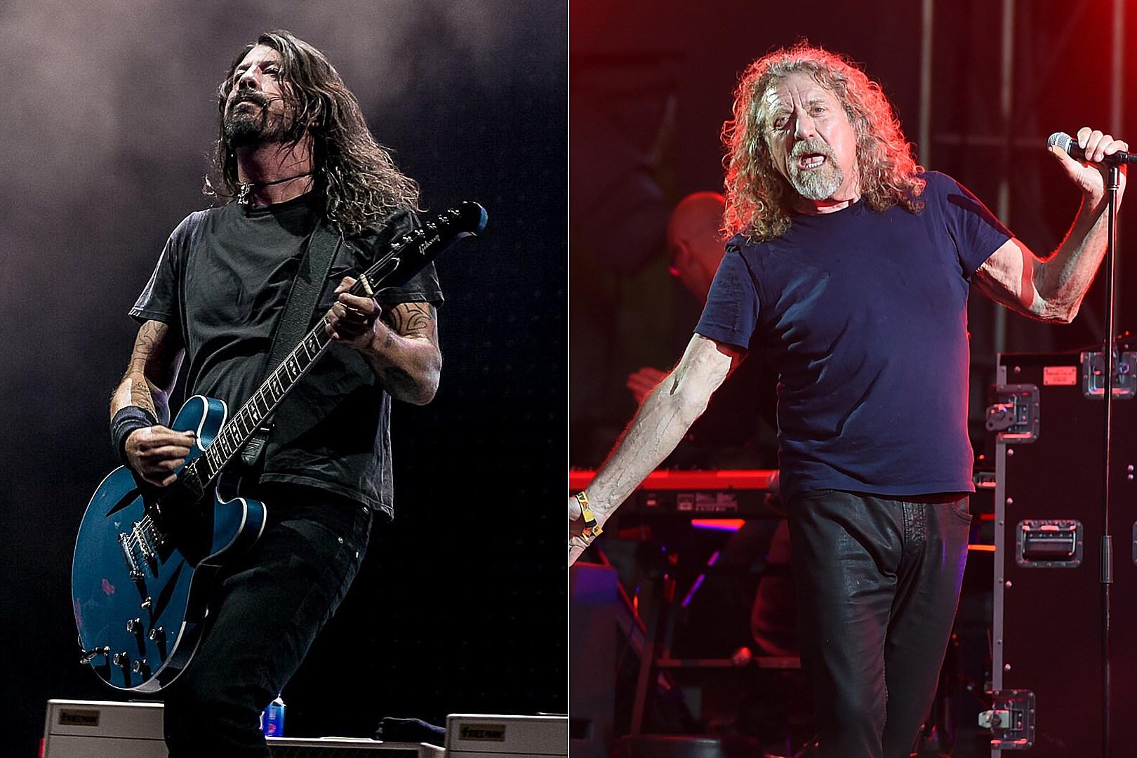 Foo Fighters, Robert Plant Lead Rock Performers at 2018 Kaaboo Festival