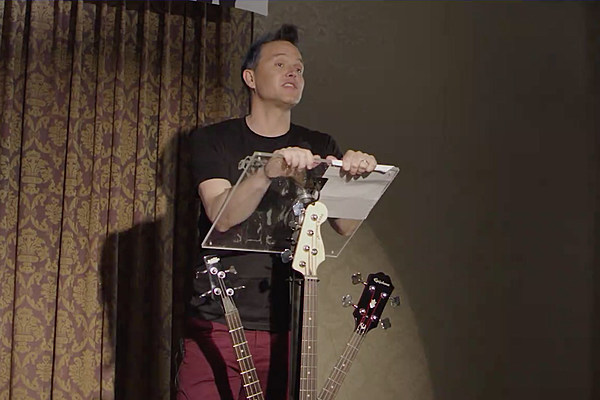 Mark Hoppus Implores Bassists to Stop Looking So Bored Onstage
