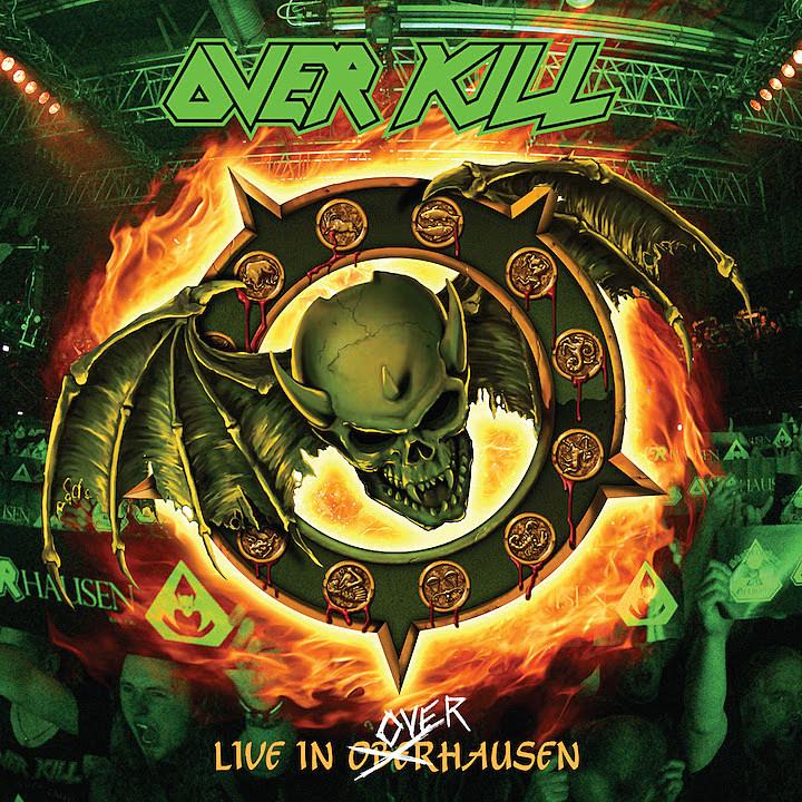 Αποτέλεσμα εικόνας για overkill live in oberhausen