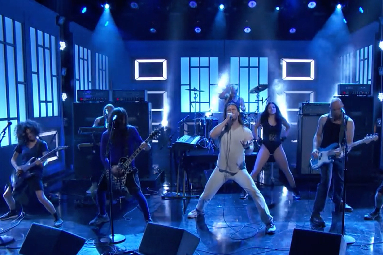 Andrew W.K. Brings 'Music Is Worth Living For' to 'Conan' Stage