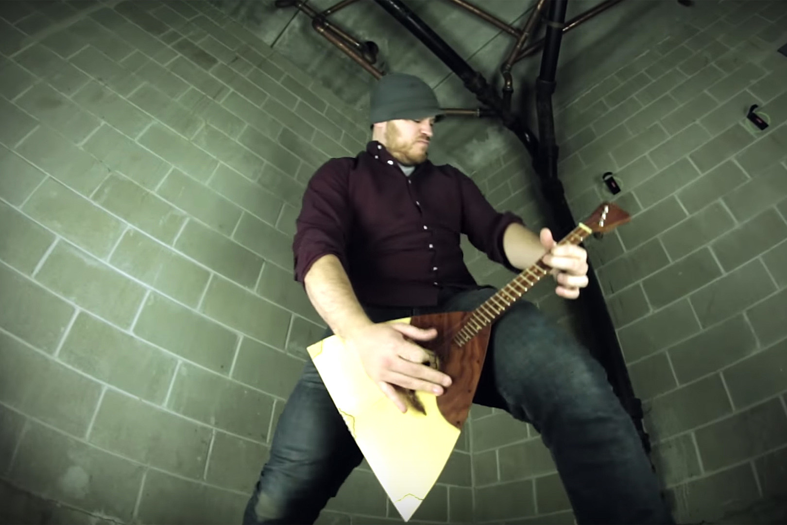 Watch Rob Scallon Make Metal With Russian Folk Instrument Balalaika