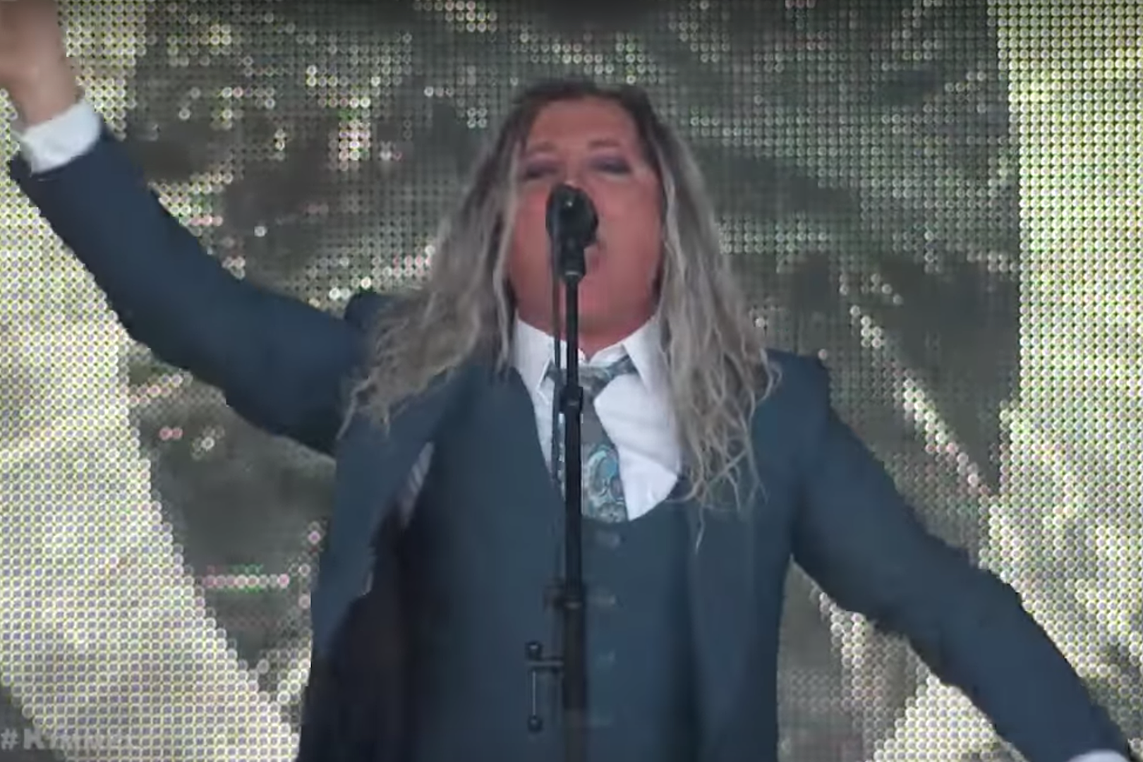 A Perfect Circle Perform 'TalkTalk' + 'So Long, And Thanks For All the Fish' on Jimmy Kimmel Live