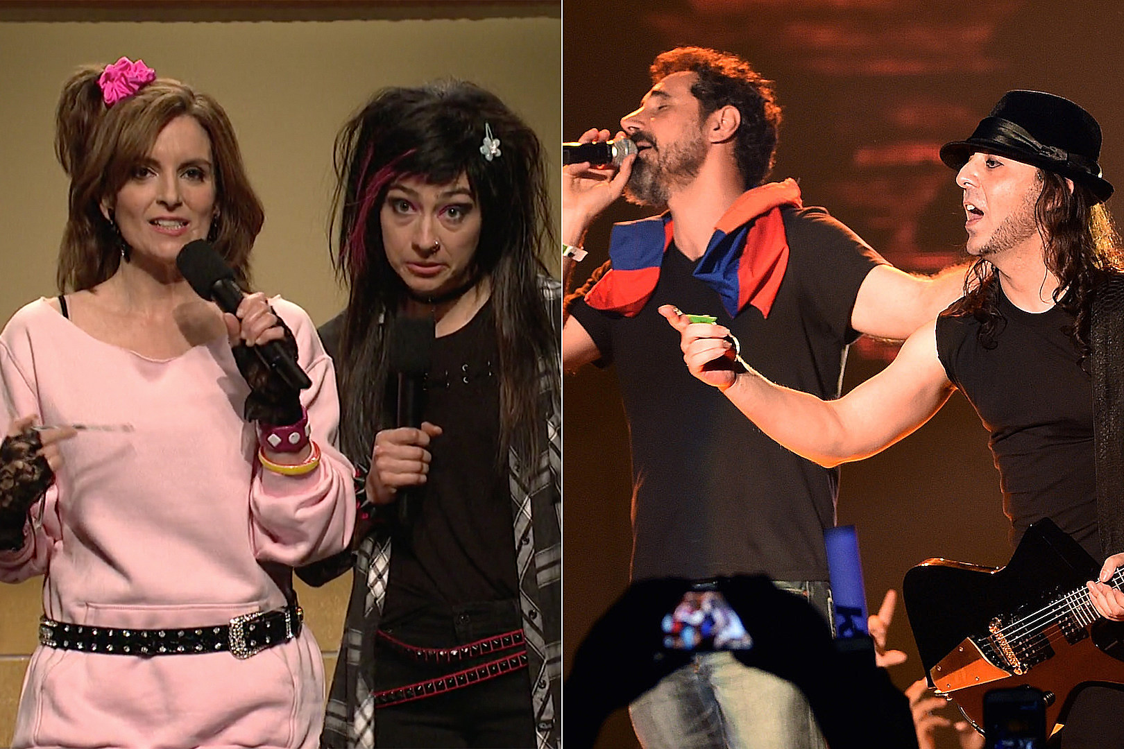 Tina Fey + Melissa Villasenor Sing System of a Down on 'Saturday Night Live'