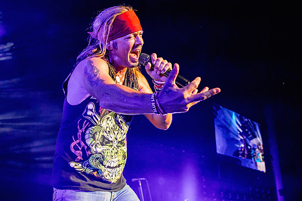 Bret Michaels' Spirits Are High as Poison's Tour Winds Down
