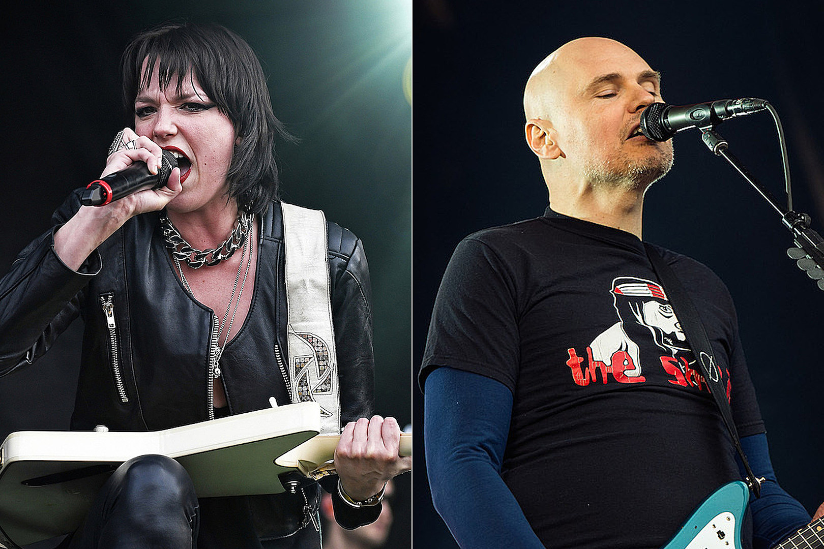 Lzzy Hale Joins Smashing Pumpkins for 'Stairway to Heaven' Cover in Nashville