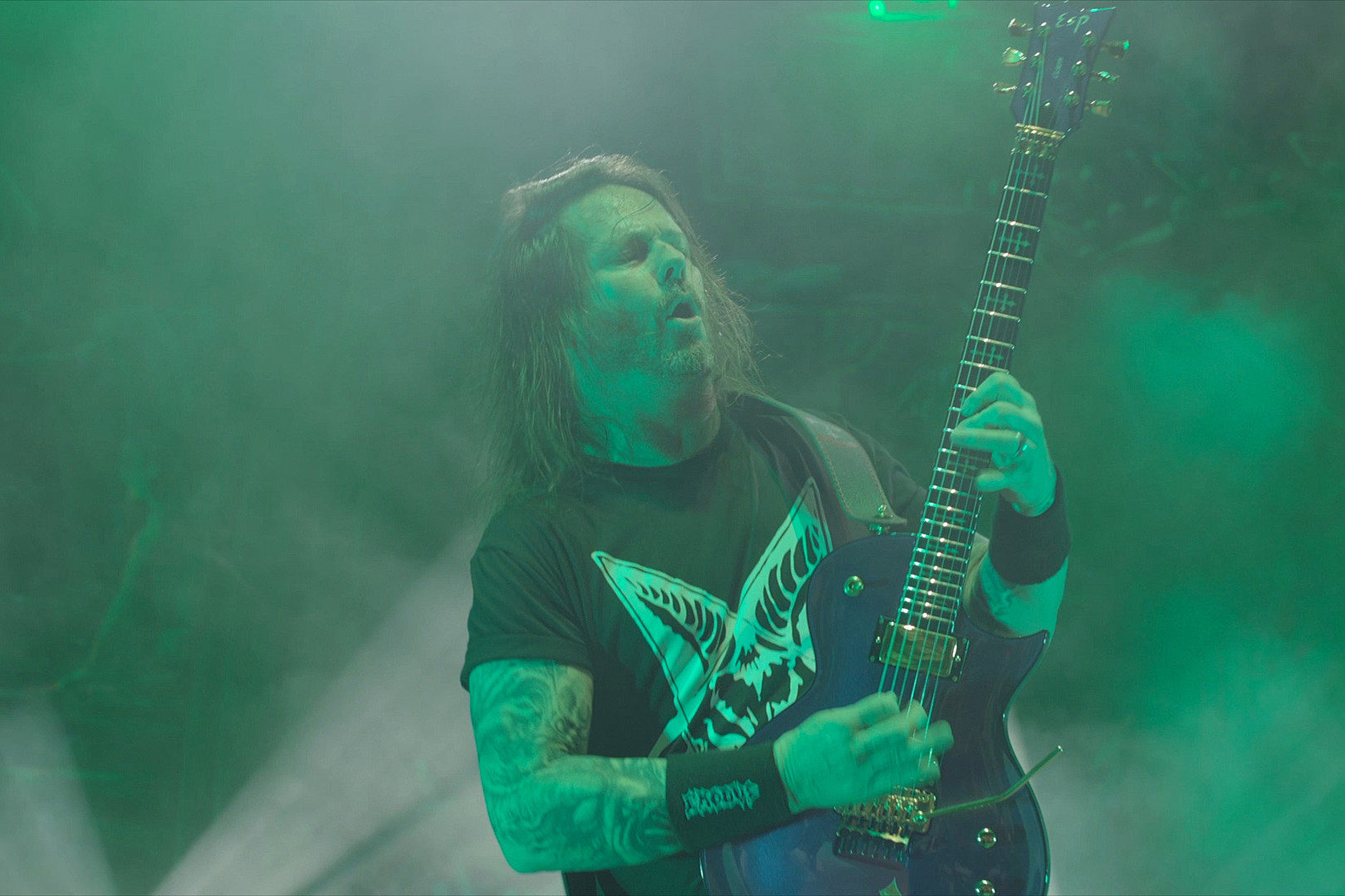 Gary Holt Cites Ritchie Blackmore Ted Nugent As Guitar Heroes