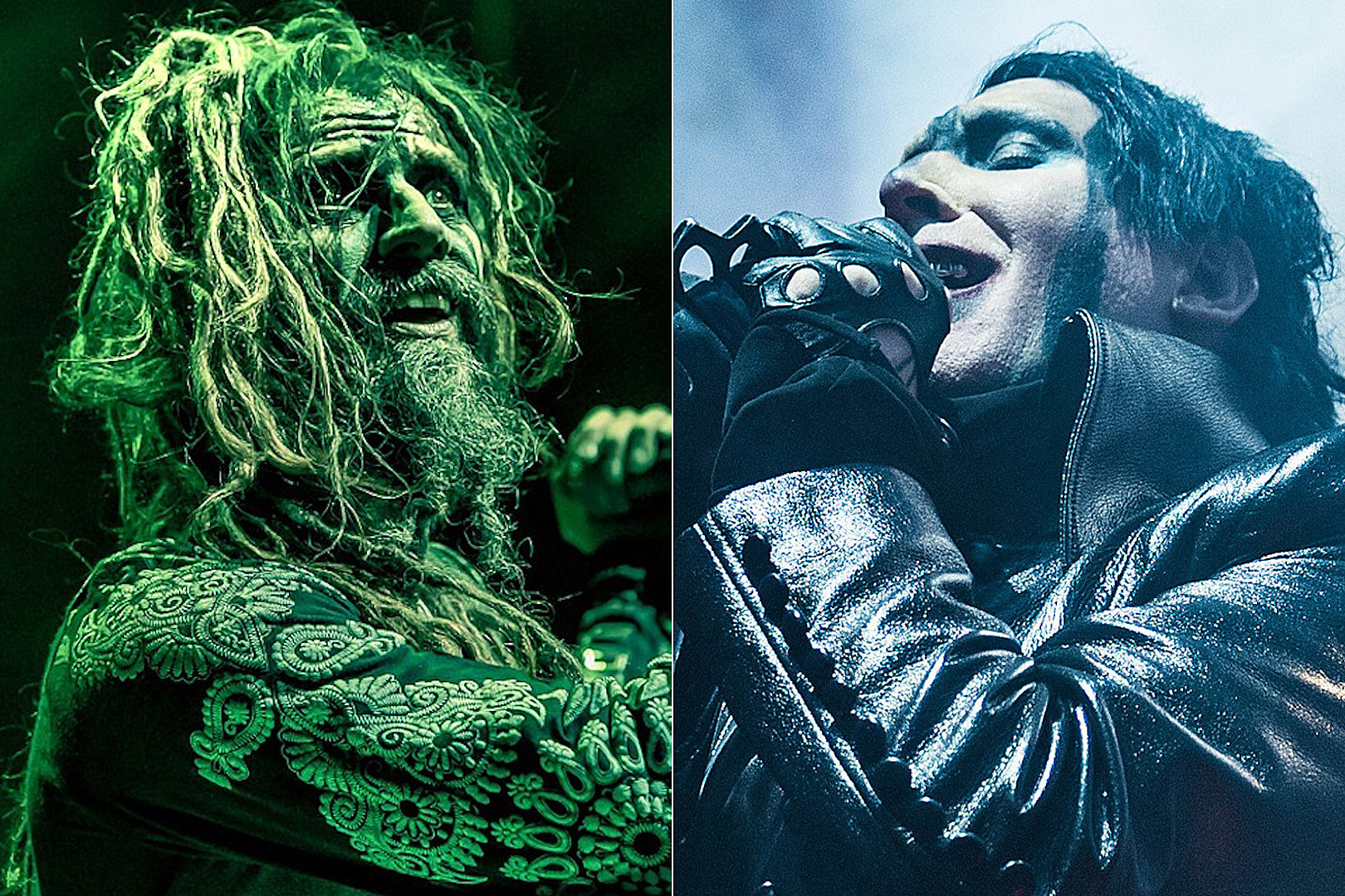 Rob Zombie + Marilyn Manson Add New Dates to 2019 'Twins of Evil' Tour