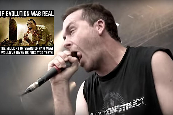 Cattle Decapitation Destroy Christian Group for Creationist Meme