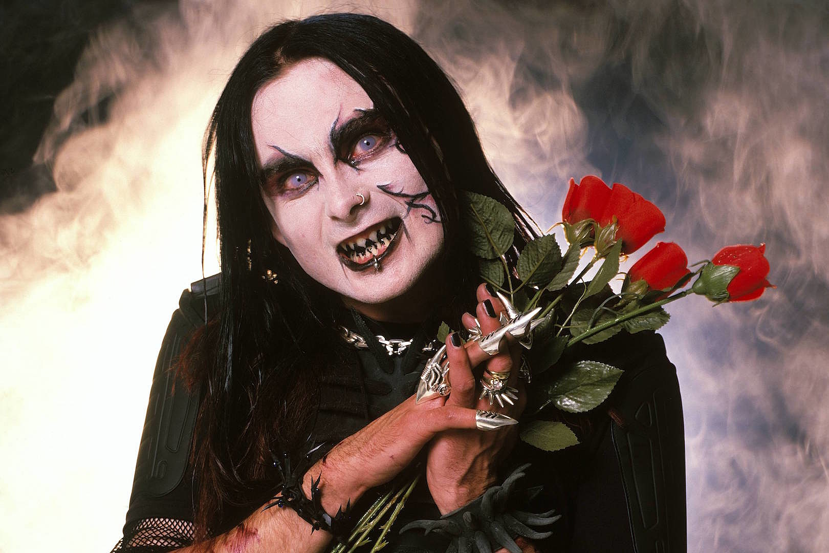 Cradle of Filth's Dani Filth is 'Happy' He 'Didn't Get Caught Up' in Church Burnings