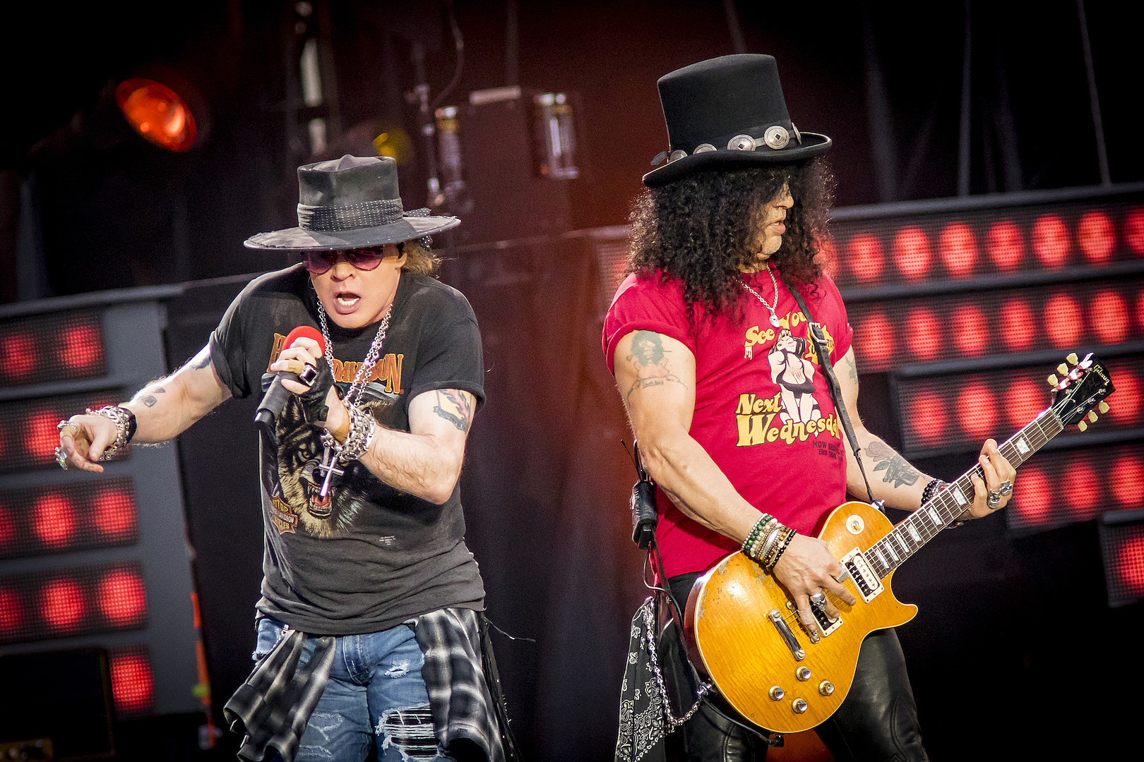 Axl Rose Initiated Phone Call With Slash Before Guns N' Roses Reunion | The Rock of Rochester