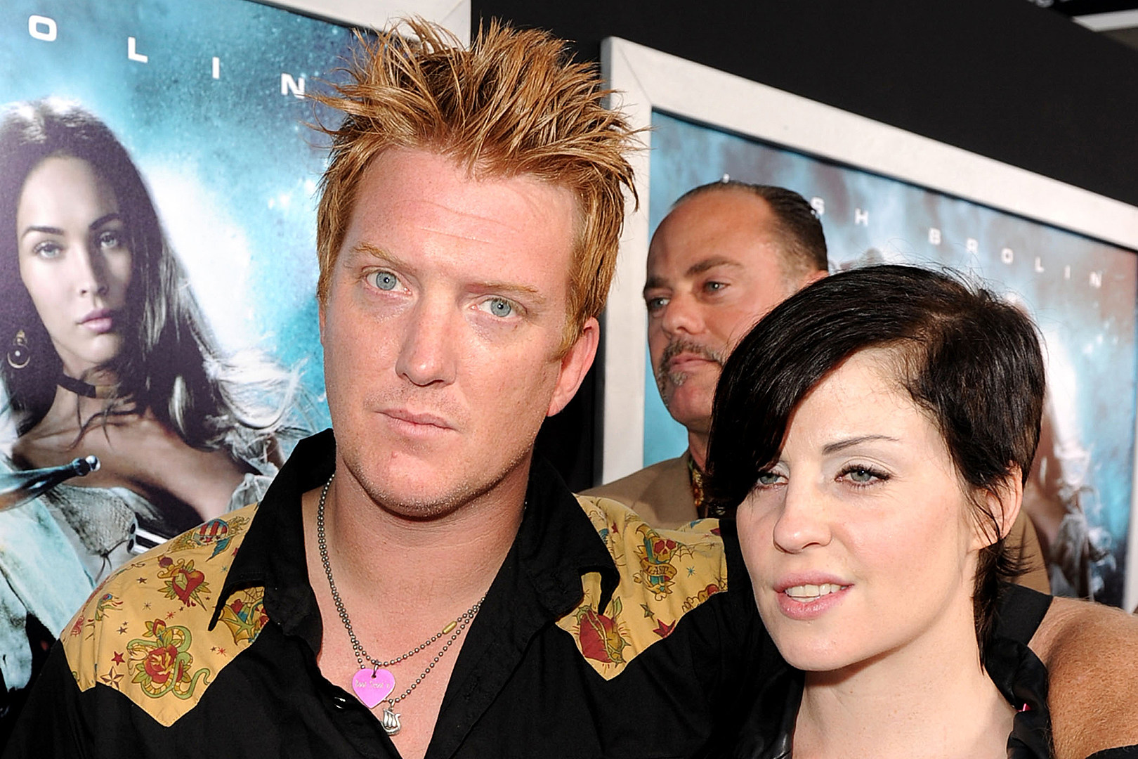 Queens of the Stone Age's Josh Homme Hits the Pit During Distillers L.A. Show