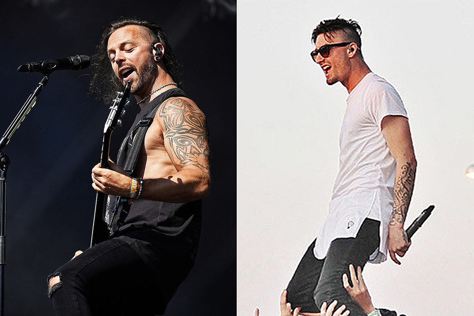 Bullet for My Valentine's Matt Tuck Offers 'Massive Respect' to We Came as Romans