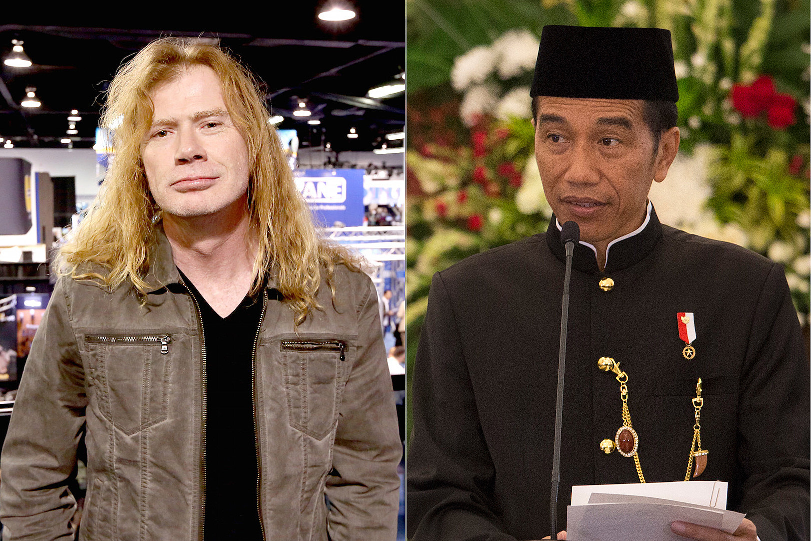 Megadeth Invite Indonesian Metalhead President to October Show | The Rock of Rochester