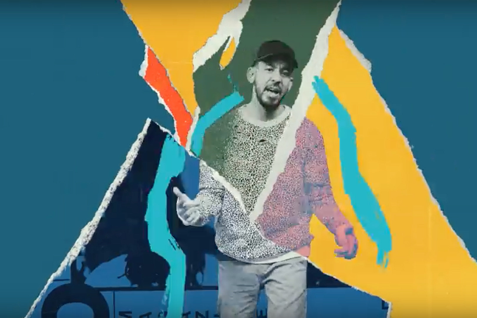 Mike Shinoda + K. Flay Piece Together Doomed Relationship in 'Make It Up as I Go' Video
