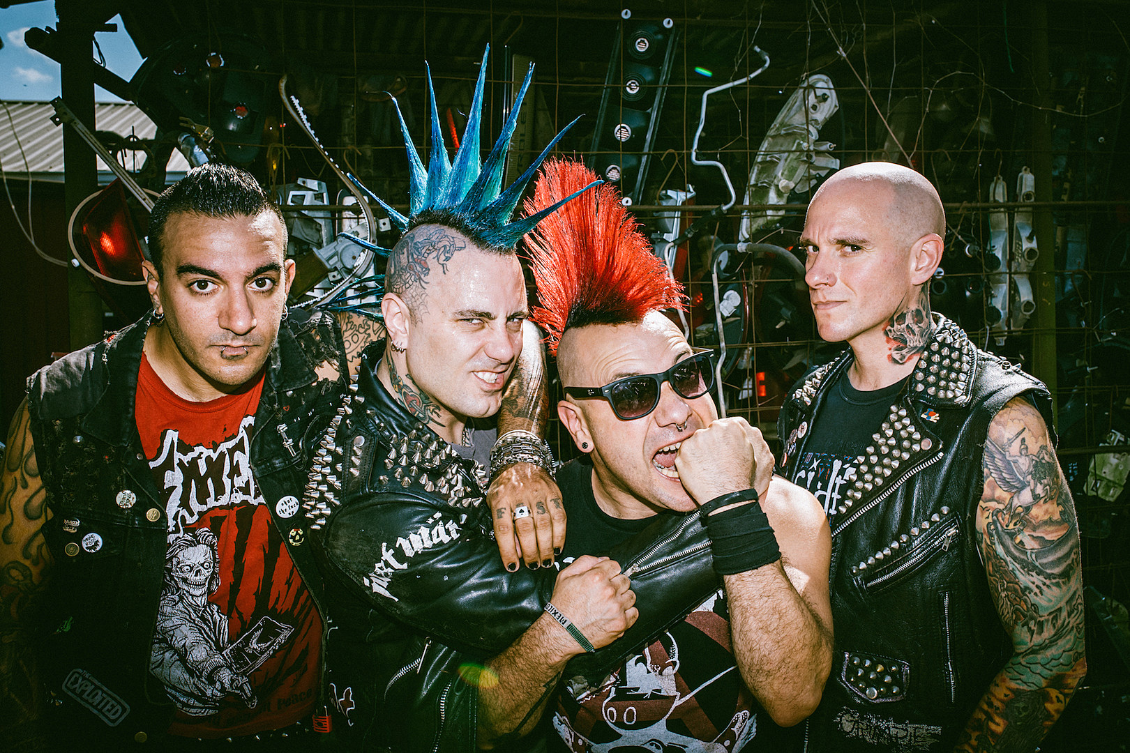 The Casualties Debut New Singer in '1312 ACAB' Video, Announce New Album