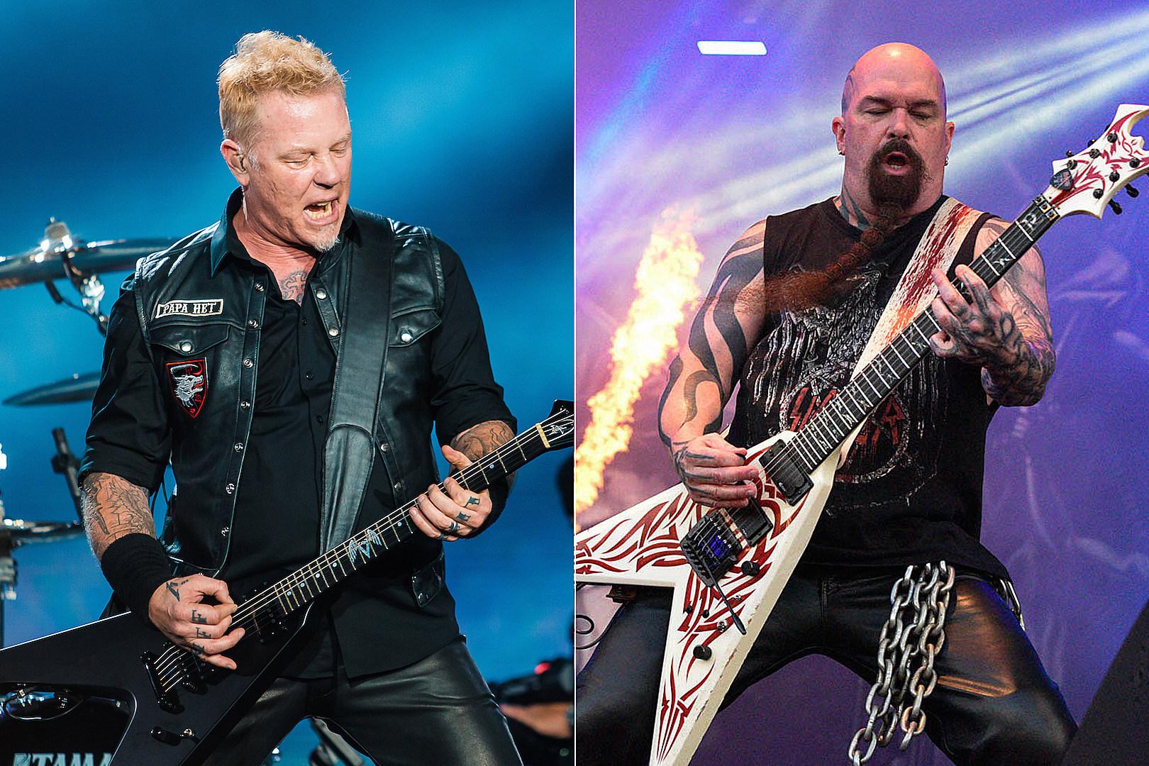 Watch Metallica Jam on Slayer's 'Raining Blood' + 'Black Magic'