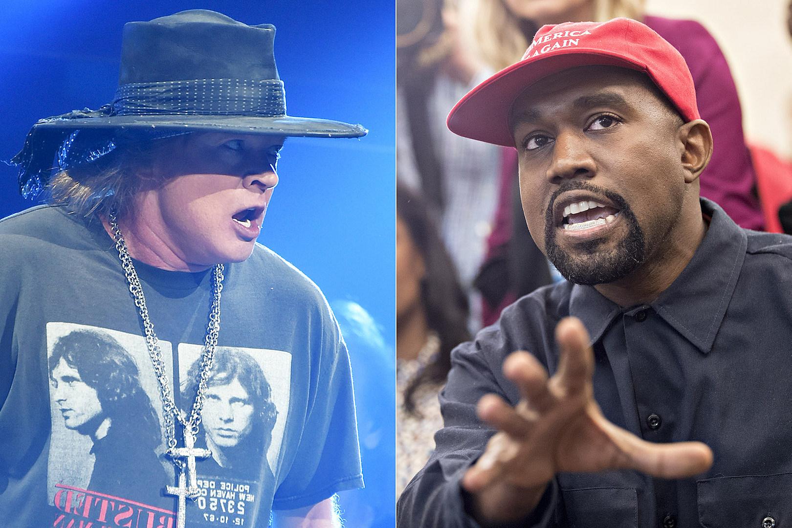 Axl Rose Destroys Kanye West's 'Joke' Meeting With President Trump