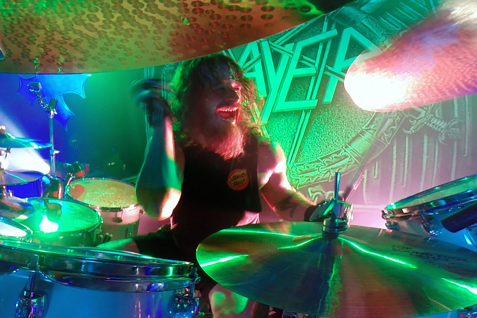 Slayer's Paul Bostaph Plays His Favorite Drum Parts