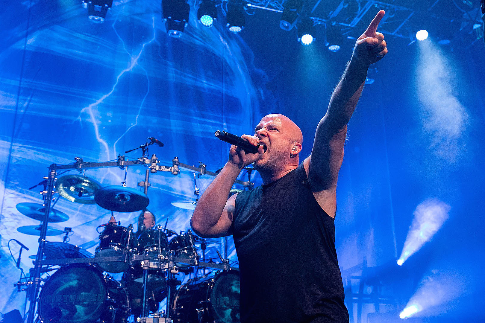 David Draiman Explains Why He Removed His Signature Chin Piercings