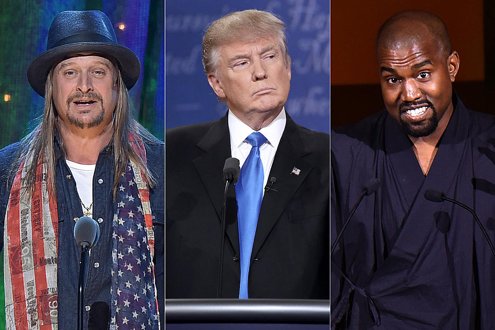 Kid Rock + Kanye West to Join Donald Trump For Music Act Signing