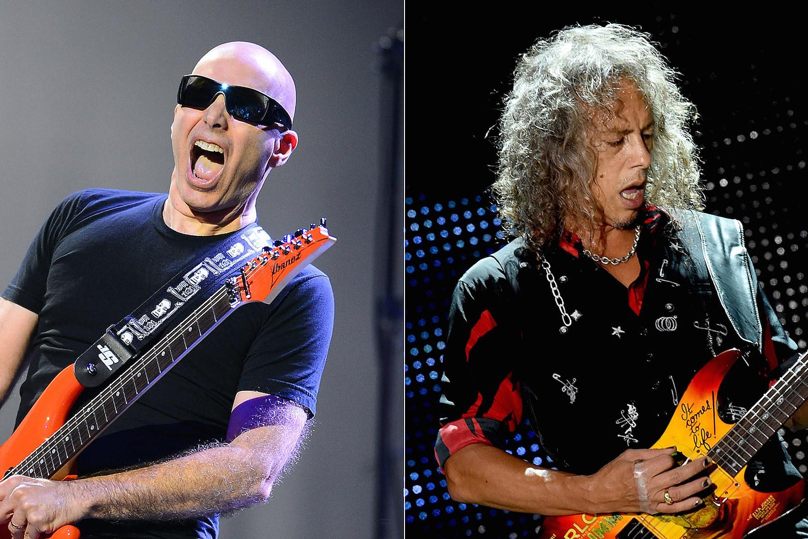 Joe Satriani Taught Kirk Hammett + Steve Vai How to Shred