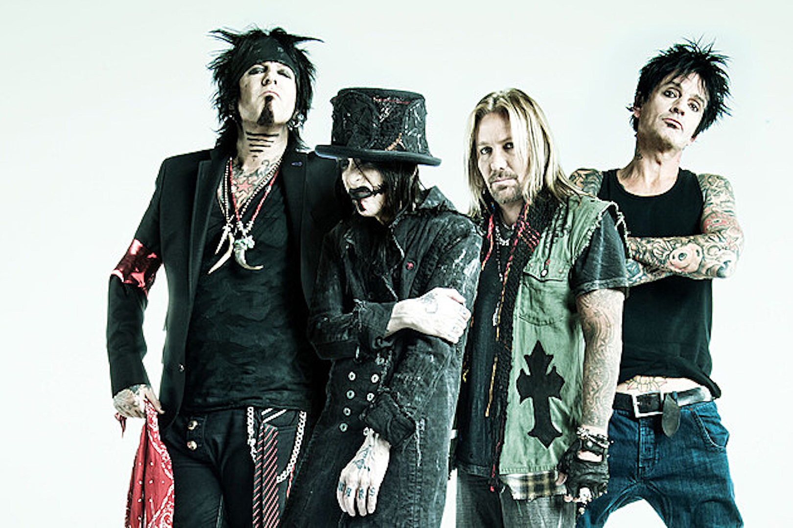 Motley Crue Release Two More New Songs From 'The Dirt' Soundtrack