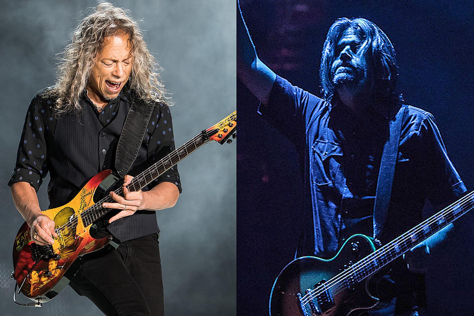 Metallica's Kirk Hammett Gives Update on New Tool Album