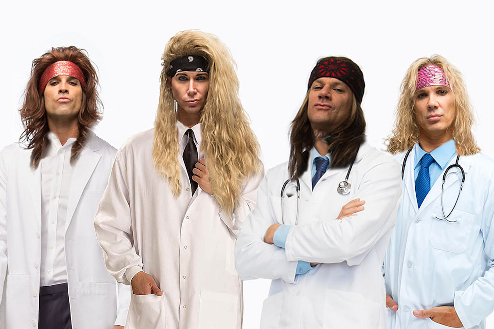 Steel Panther Book 'Heavy Metal Rules' Fall North American Tour
