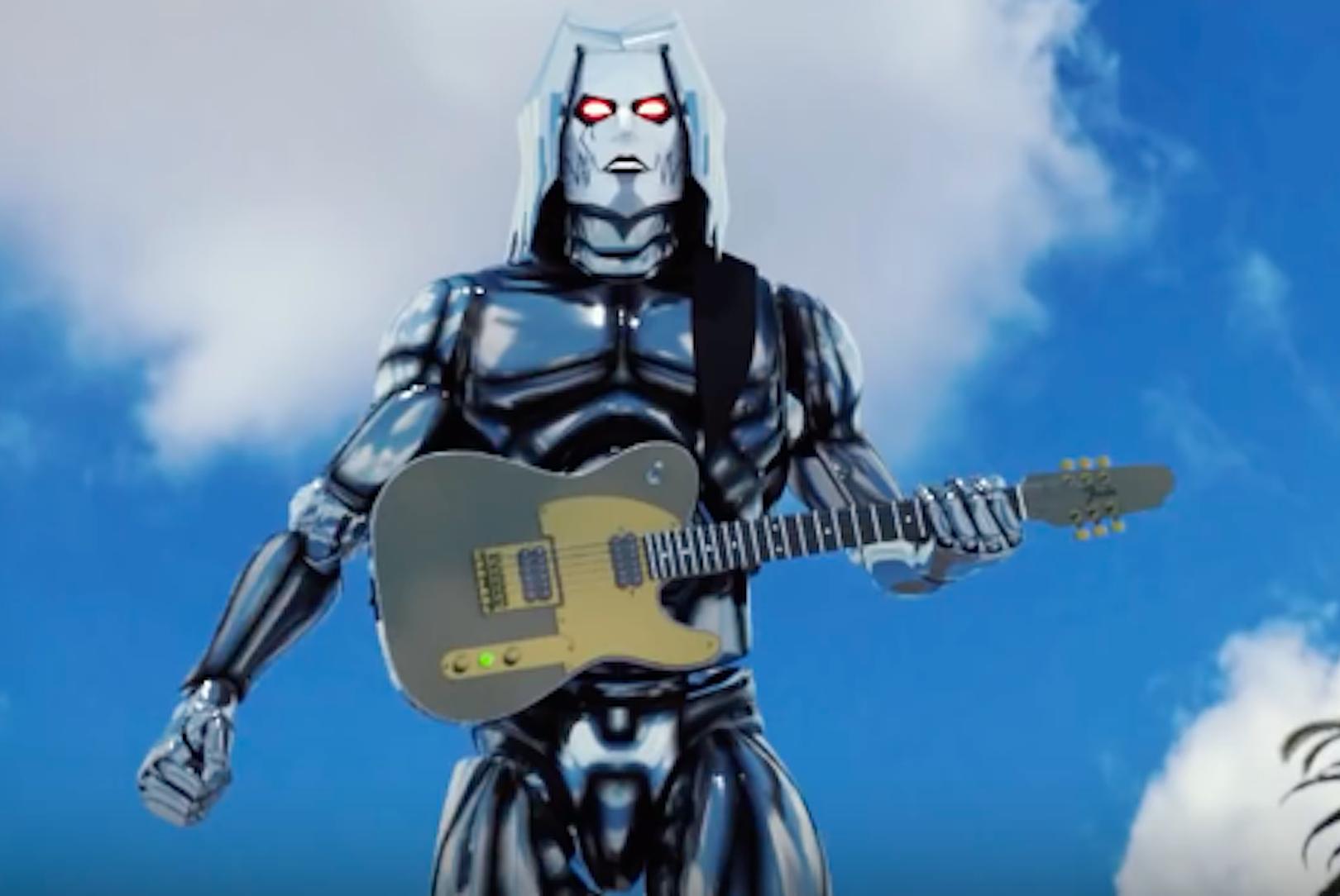 Watch John 5 Wreak Havoc as Giant Robot in New Video
