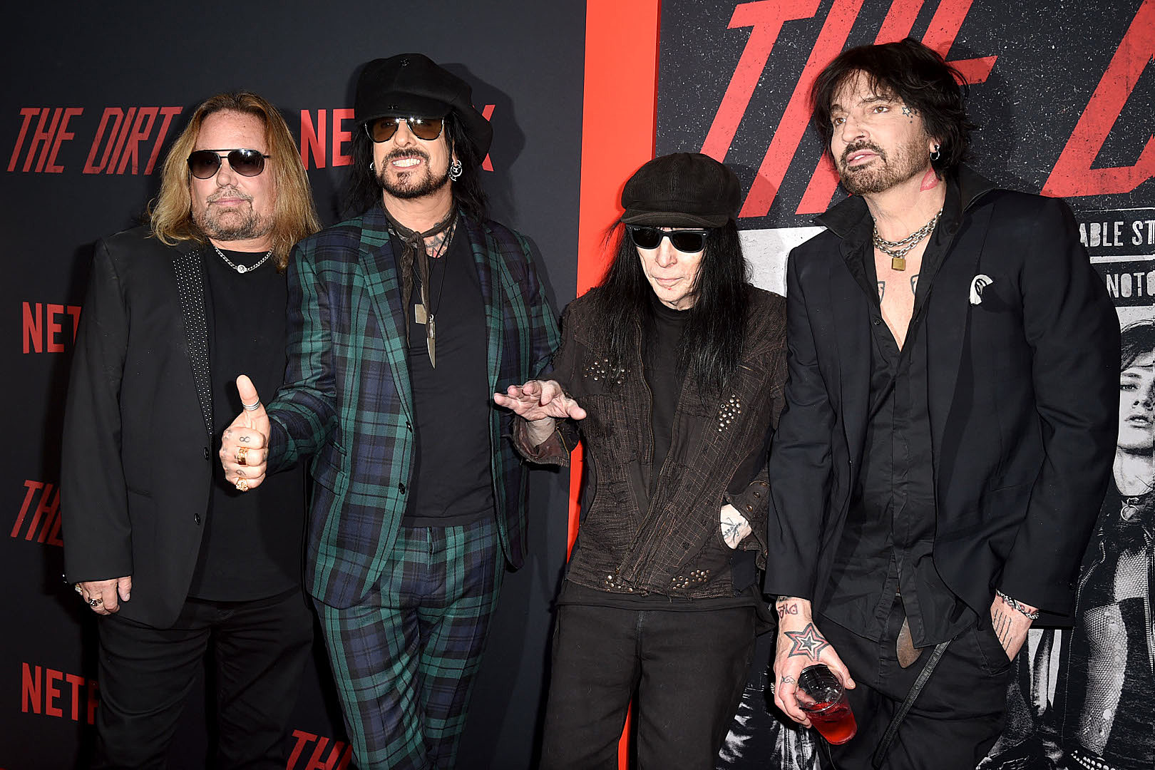 Motley Crue + Netflix Sued by 'The Dirt' Crew Member Over Severe Injuries
