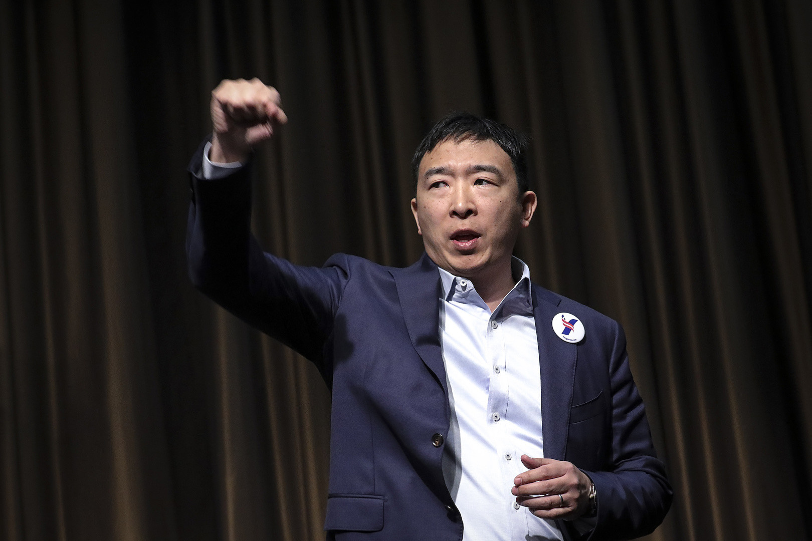 Andrew Yang Wants to Be America's First Ex-Goth President