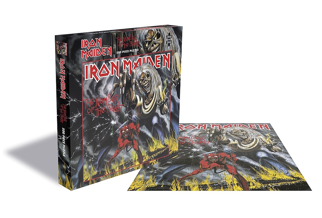 Iron Maiden, Slayer, Judas Priest + Motorhead Jigsaw Puzzles Are Coming