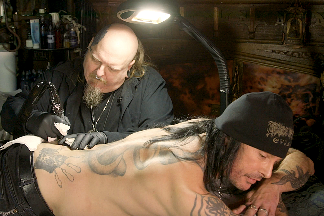 Watch Cradle of Filth's Dani Filth Get Tattooed by Paul Booth