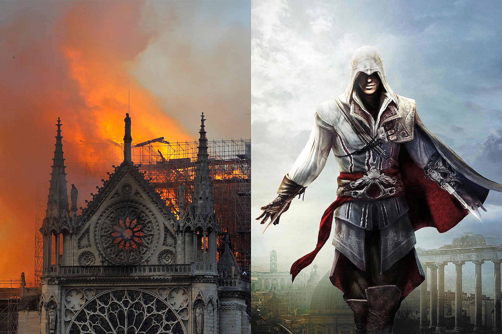 Assassin's Creed Game May Help in the Restoration of Notre Dame Following Fire