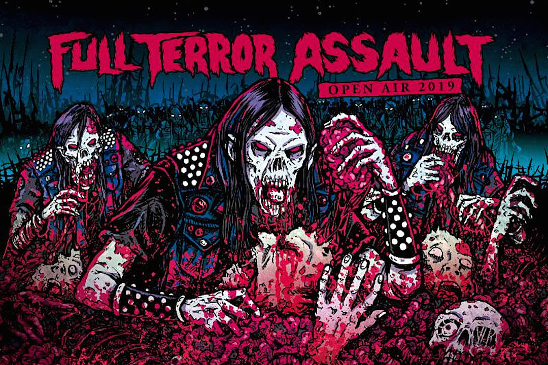 Soulfly, Vio-Lence, Kataklysm + More Announced for 2019 Full Terror Assault Open Air