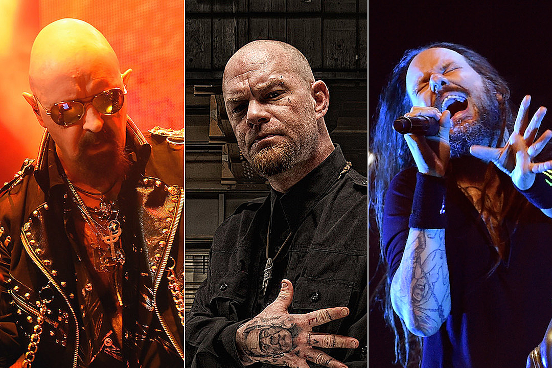 Rob Halford + Jonathan Davis Helped Five Finger Death Punch's Ivan Moody With Sobriety