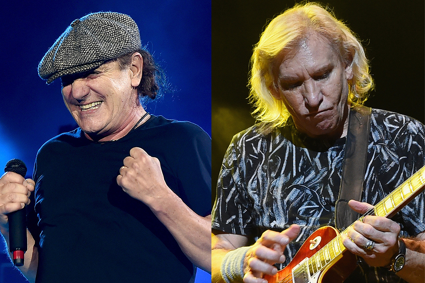 AC/DC's Brian Johnson + The Eagles' Joe Walsh Are Making Music Together