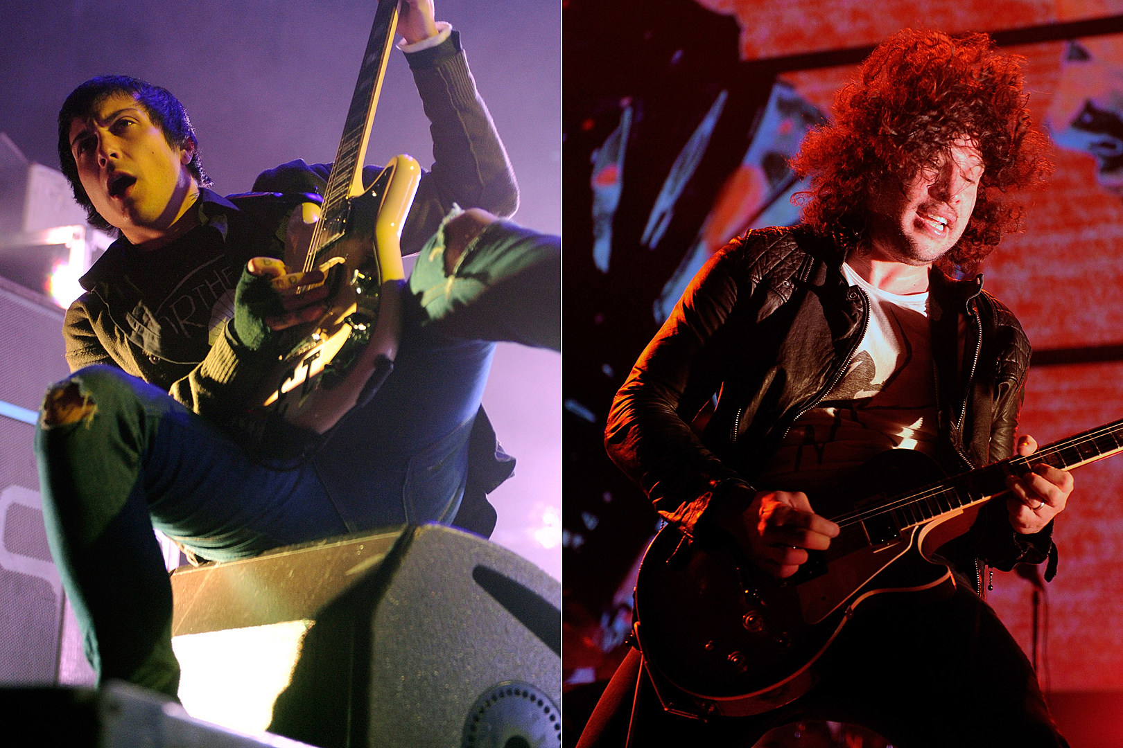 My Chemical Romance's Frank Iero + Ray Toro Reunite for First Time on 'One on One' Session