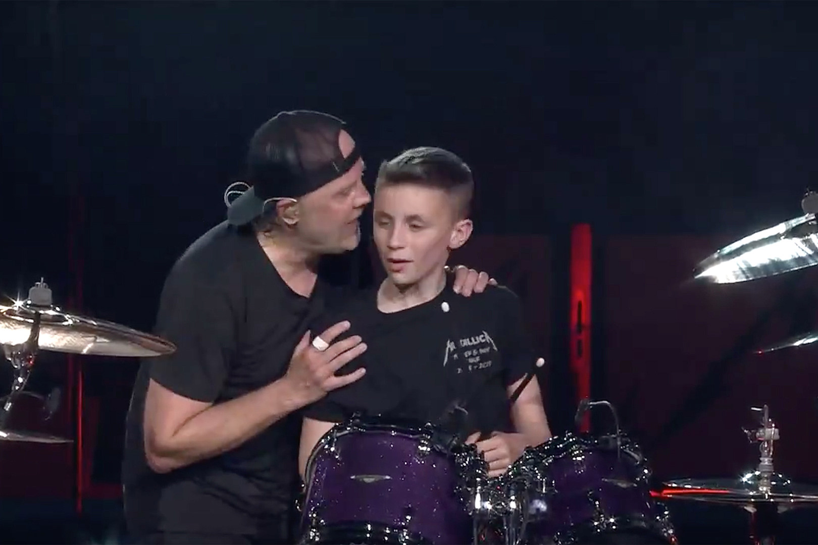 Metallica Perform With 13-Year-Old Drummer for His Birthday