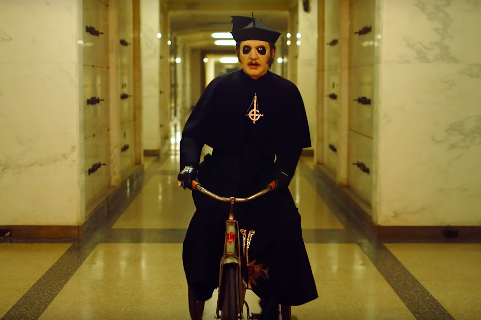 New Ghost Video Pays Homage to Stephen King's 'The Shining'