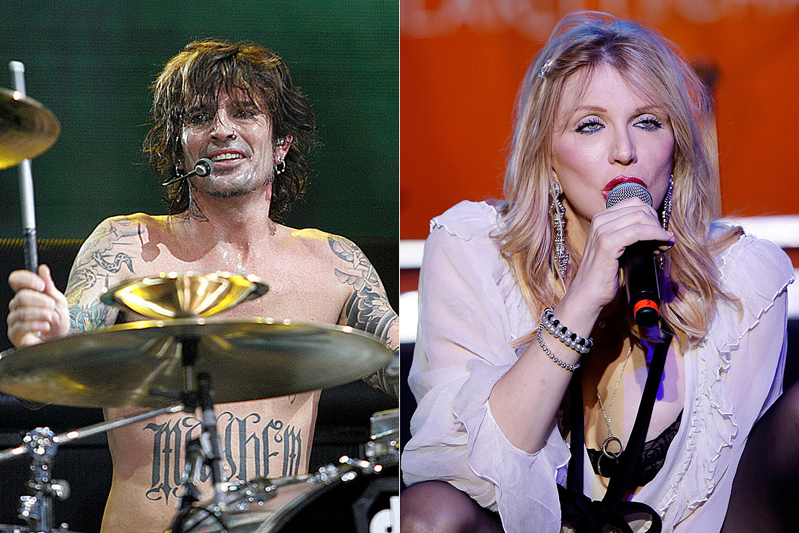 Tommy Lee Claps Back at Courtney Love Over 'The Dirt' Jab
