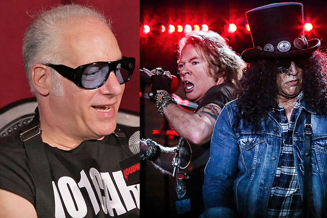 How Andrew 'Dice' Clay Reunited Guns N' Roses