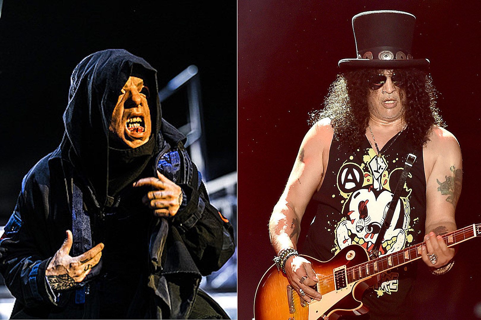 Facebook Now Has Slipknot + Guns N' Roses Face Filters