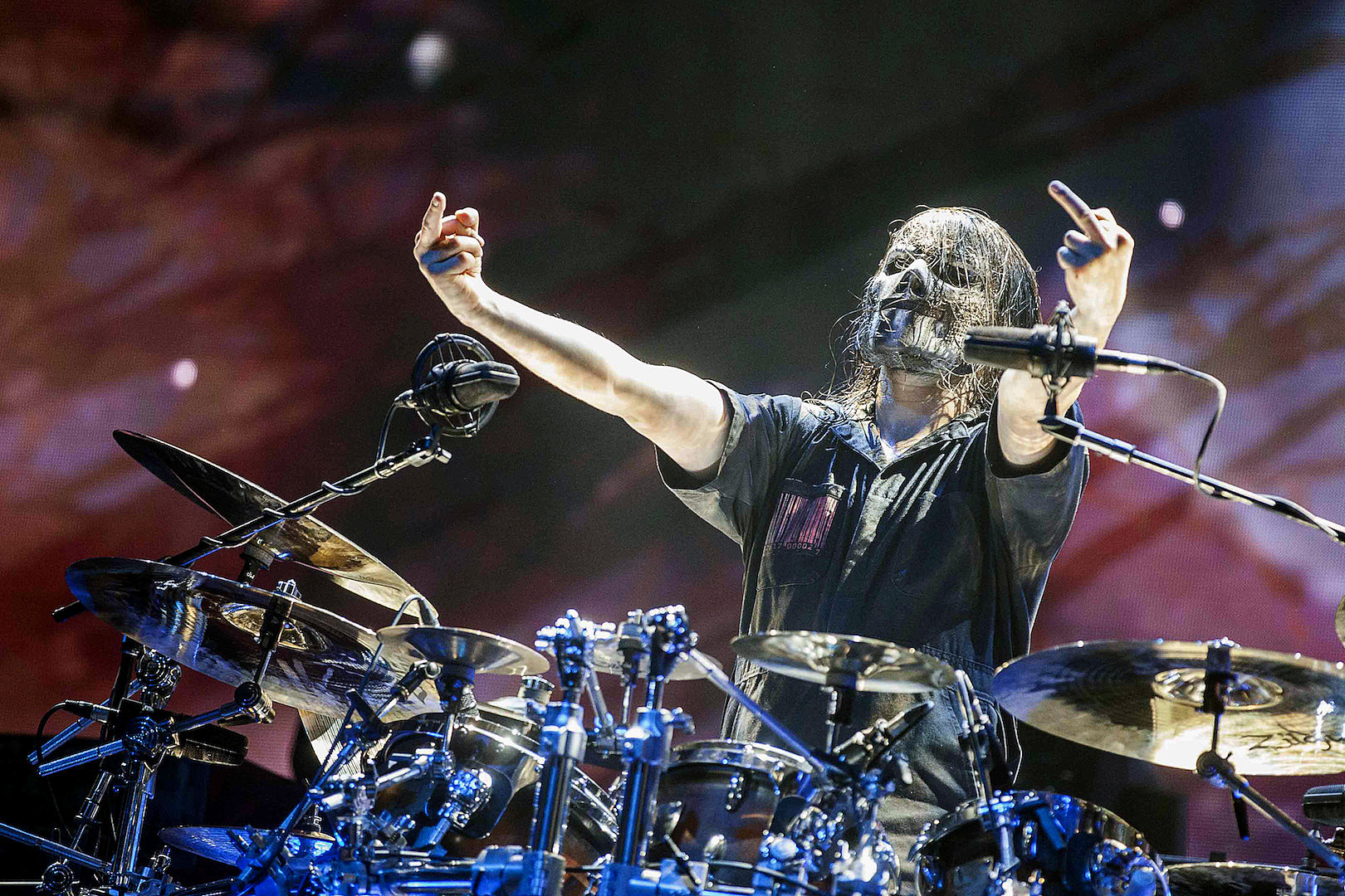 Poll Names Slipknot's Jay Weinberg the Best Drummer in Metal Right Now