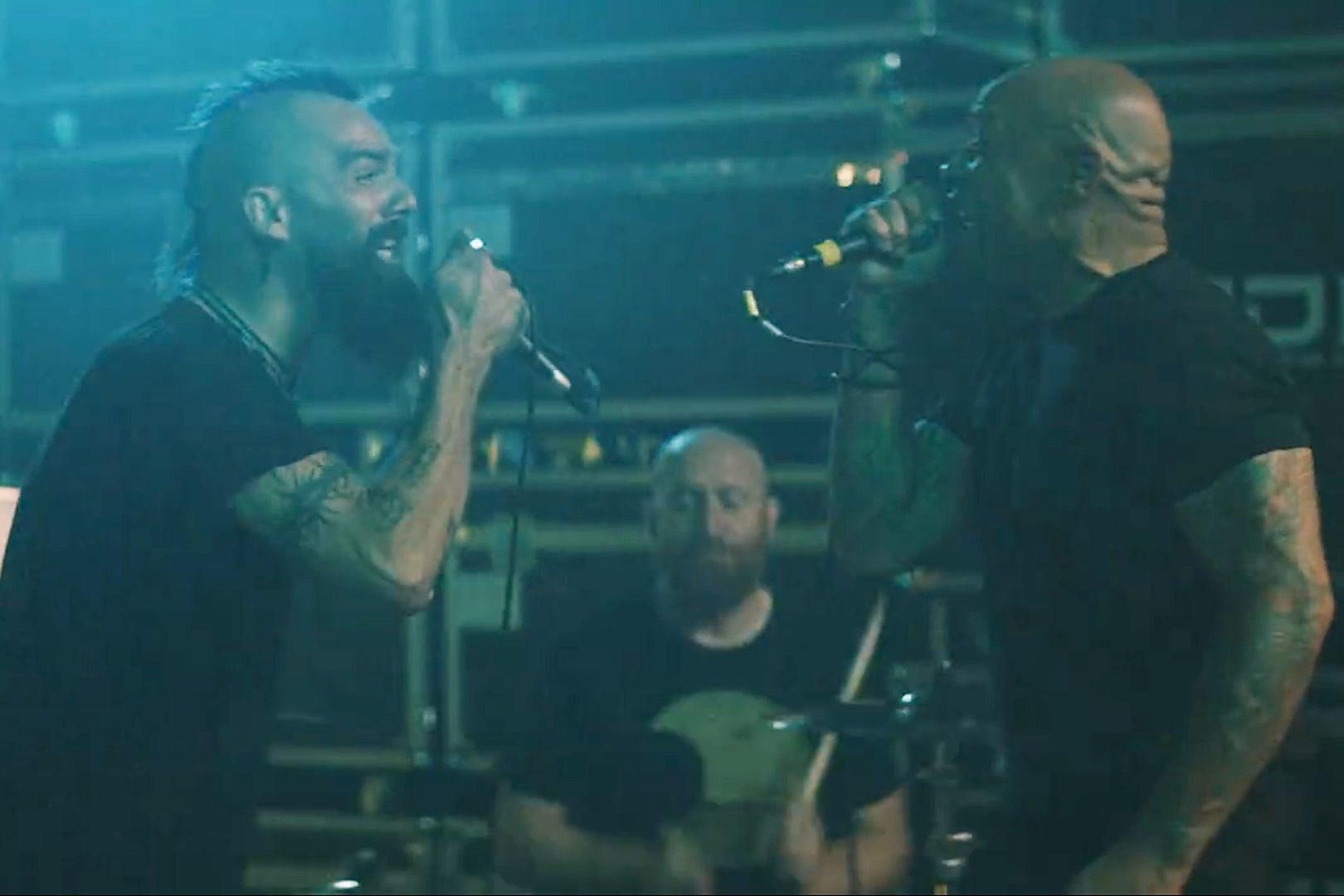 Watch Jesse Leach + Howard Jones Go Head to Head in Killswitch Engage's 'The Signal Fire' Video