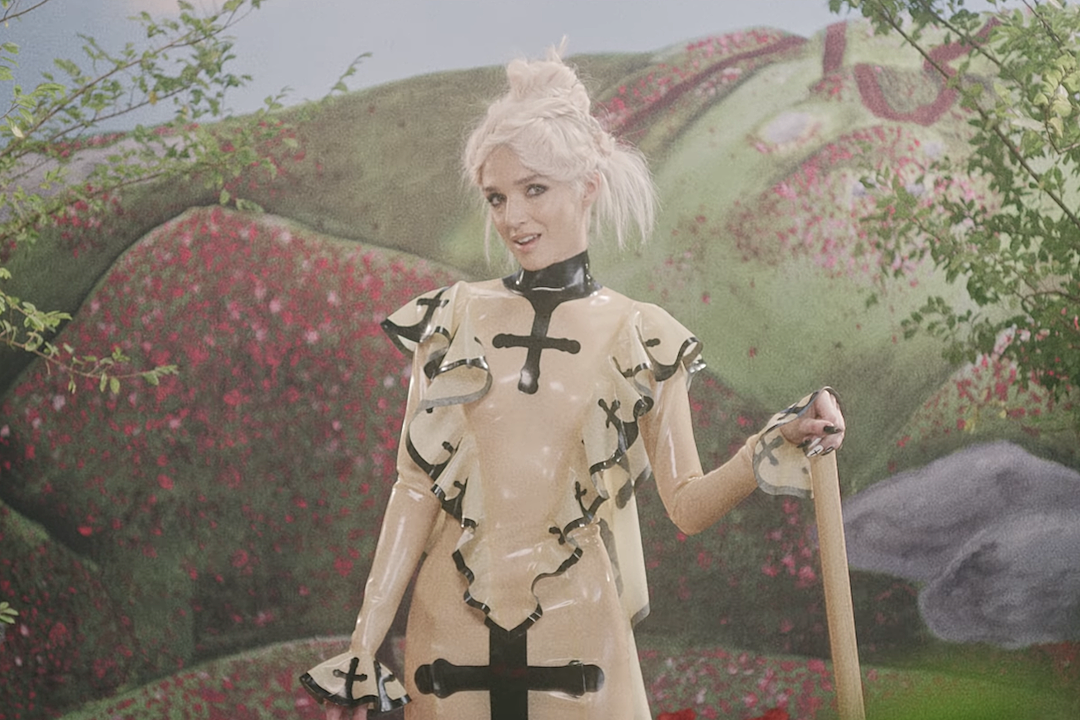 Poppy Brings You Sticky Sweet Pop Metal With 'Concrete' Video